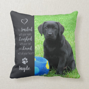 Pet Memorial - Dog Photo - Cat Photo - Pet Photo Cushion