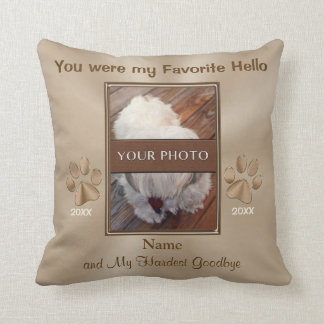Pet Memorial Gifts, Personalized Photo Pillow