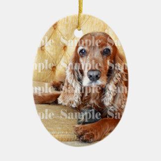 Pet memorial memory / PERSONALIZE photo Christmas Ornament