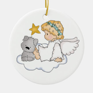 Pet memorial ornament, can be personalized christmas ornament