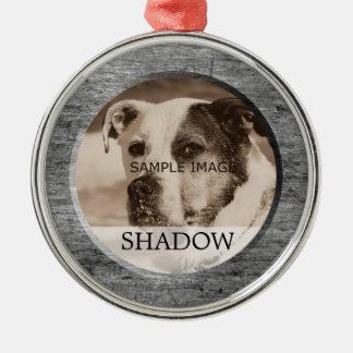 Pet Memorial Photo | In Memory Of Tribute Christmas Ornament