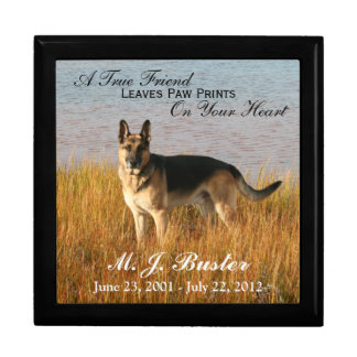 Pet Memorial Photo Memento Box