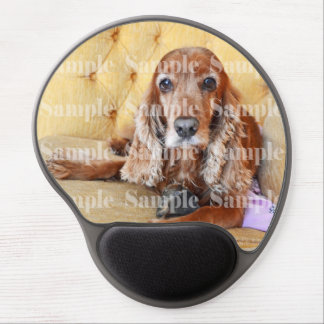 Pet memorial photo PERSONALIZE Gel Mouse Mat