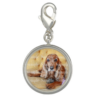 Pet memorial photo PERSONALIZE round