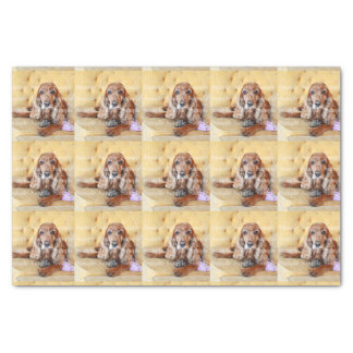 Pet memorial photo PERSONALIZE Tissue Paper