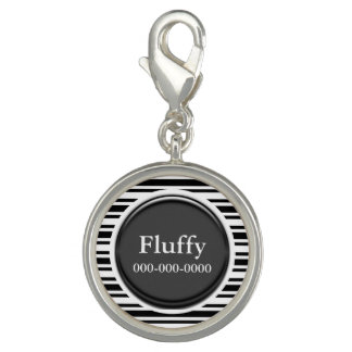 Pet name id round PERSONALIZE Bracelets