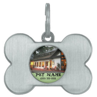 Pet Name Personalized Customized House Animal Bone Pet Tag