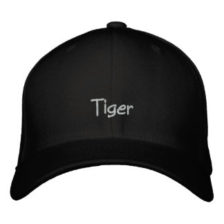 Pet Name Tiger Cap / Hat Embroidered Hat