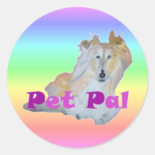 Pet Pal Round Sticker