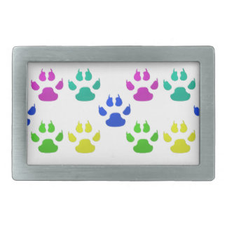 Pet Paw Print Belt Buckle