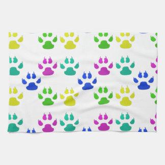 Pet Paw Print Tea Towel