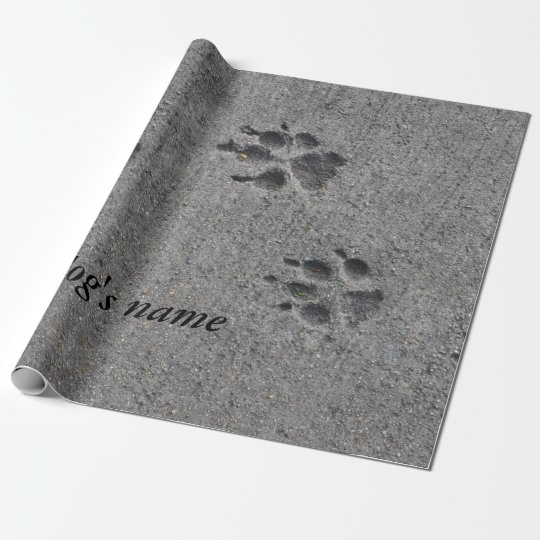 Pet Paws in Cement – Always There Wrapping