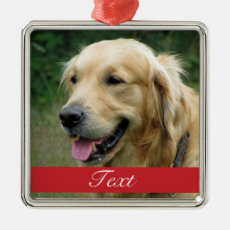 Pet Photo customizable Christmas Ornament