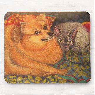 Pet-Portrait mouse pad
