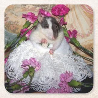 Pet Rat Bride Trudy Coasters