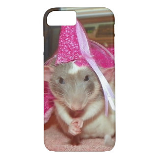 Pet Rat Princess Reba iPhone case