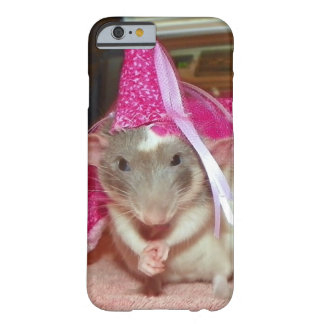 Pet Rat Princess Reba iPhone case Barely There iPhone 6 Case