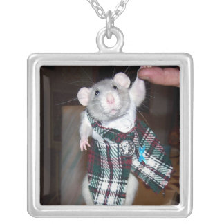Pet Rat Ruby Necklace