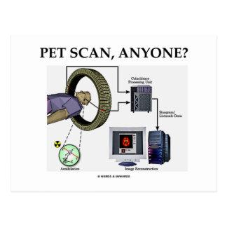 PET Scan, Anyone? (Positron Emission Tomography) Postcard