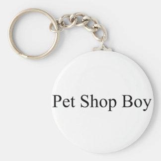 Pet Shop Basic Round Button Key Ring