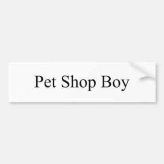 Pet Shop Bumper Sticker