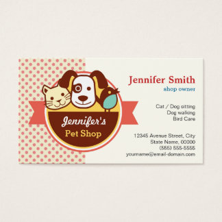 Pet Shop - Cute Polka Dots
