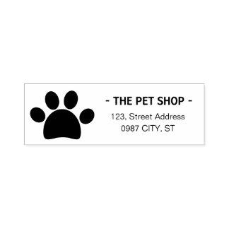 Pet Shop | Pet Businness | Paw rubber stamp