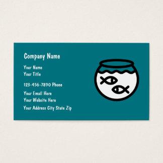 Pet Shop Simple Business Cards