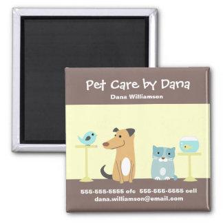 Pet Sitter s Promotional Magnet