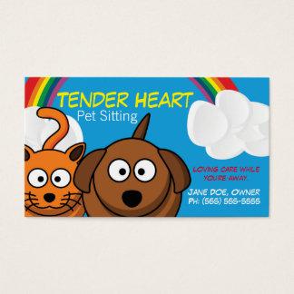 Pet Sitter Service Business Card