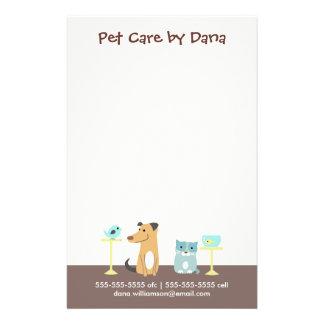 Pet Sitter's Business Full Color Flyer