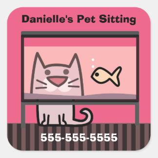 Pet Sitter's Promotional Sticker