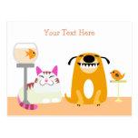 Pet Sitting Business Postcard