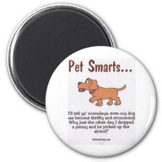 Pet Smarts 6 Cm Round Magnet