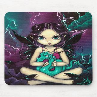 """Pet Storm Dragon"" Mousepad"