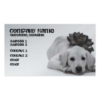 Pet Supply/Groomer/Etc. Pack Of Standard Business Cards