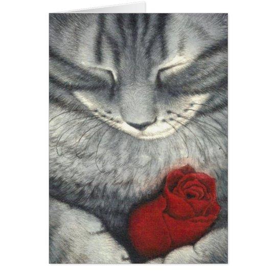 Pet Sympathy Card (Cat)
