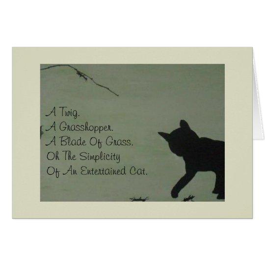Pet Sympathy Card - Cat