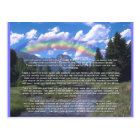 Pet Sympathy Card Rainbow Bridge