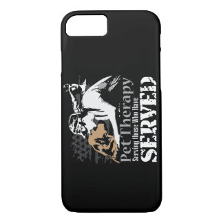 Pet therapy for PTSD iPhone 7 Case