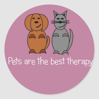 Pet Therapy Stickers