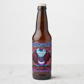 PET VAMPY BEER LABLE BOTTLE BEER BOTTLE LABEL