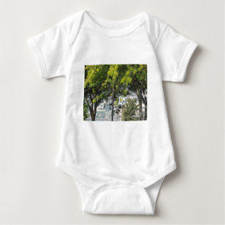 Pet Walk with Trees Infant Creeper