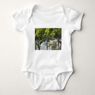 Pet Walk with Trees Tee Shirts
