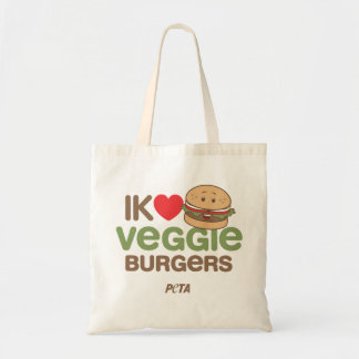 PETA I [love] veggie citizens Tote Bag