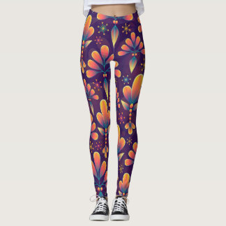 Petal Patterns Leggings