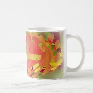 Petal Shapes of Sunset Coffee Mug