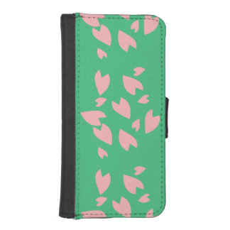 Petal Storm iPhone SE/5/5s Wallet Case