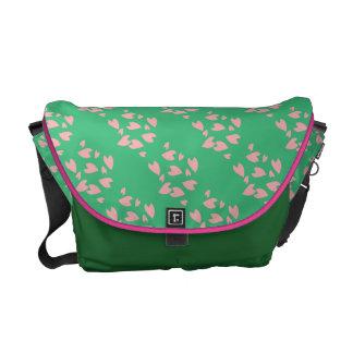 Petal Storm Messenger Bag