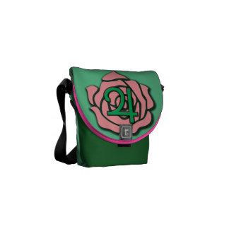 Petal Storm Mini Messenger Bag